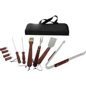 KitchenWorthy 11 Piece BBQ Tool Set (12 Units Included)