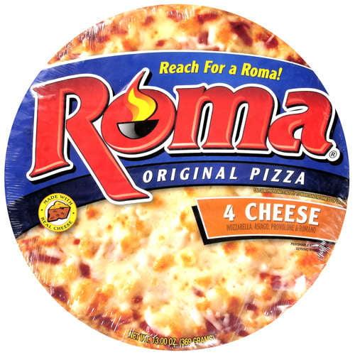 Roma 4 Cheese Pizza, 13 oz