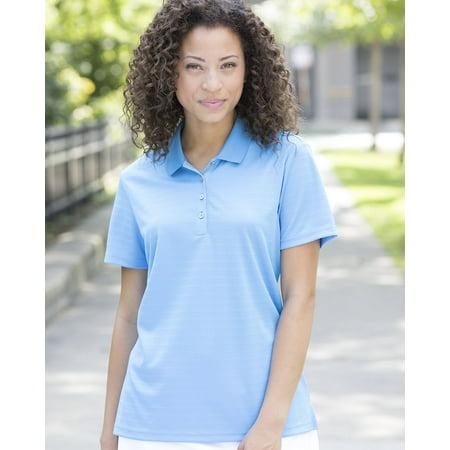 adidas Women's Shadow Stripe Sport Polo Shirt ()