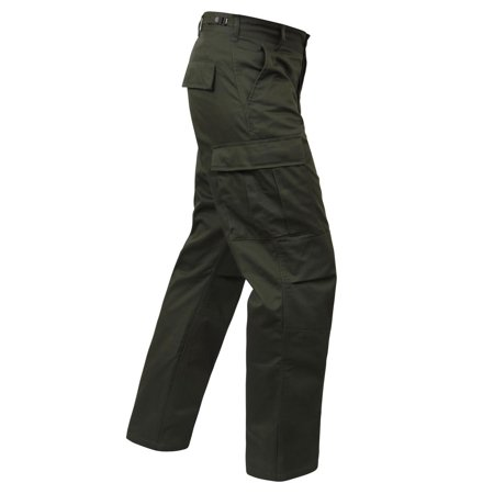 Olive Drab BDU Pants, Mens Military Fatigues, Army