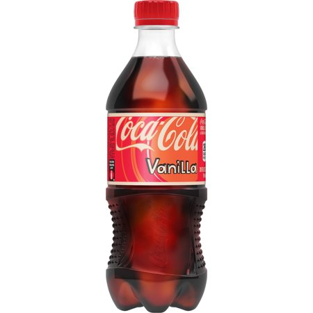 (6 Pack) Coke Vanilla Bottle, 20 fl oz