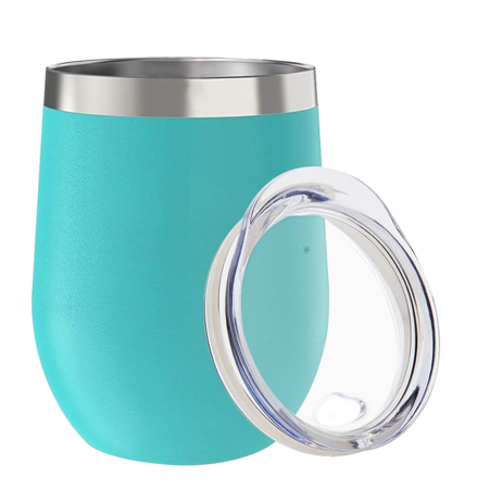 3d1ba11e1a4 Stainless Steel Stemless Wine Glass Tumbler 12 oz | Double Wall ...