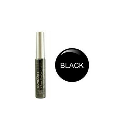 Suncoat Sugar Based Natural Mascara, Black Vegan - 0.33 - Suncoat Sugar Based Natural