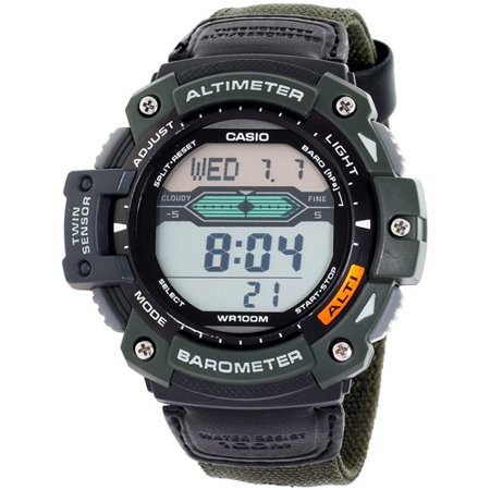 Casio Altimeter Barometer And Thermometer Watch