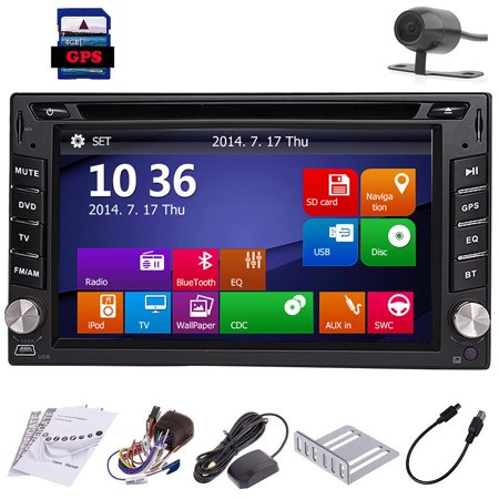 Automotive Parts CD 2 Din In Dash Autoradio GPS SAT Multimedia Headunit In Deck Car Video Electronics Car Stereo MP3 Music Auto Radio DVD Player Motorized 6.2Inch EinCar EQ Subwoofer