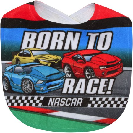 NASCAR WinCraft Infant Born to Race All Pro Baby Bib - No -