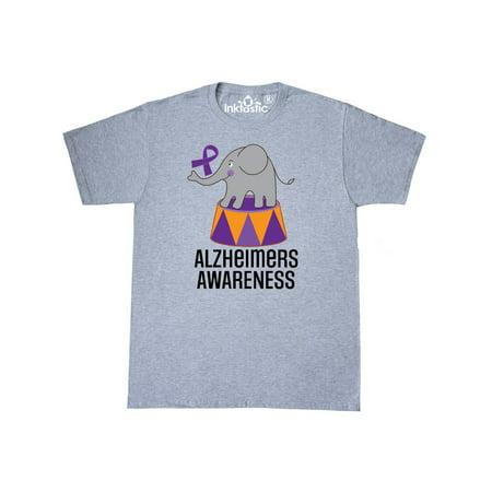 Alzheimers Awareness elephant T-Shirt (Alzheimers Awareness)