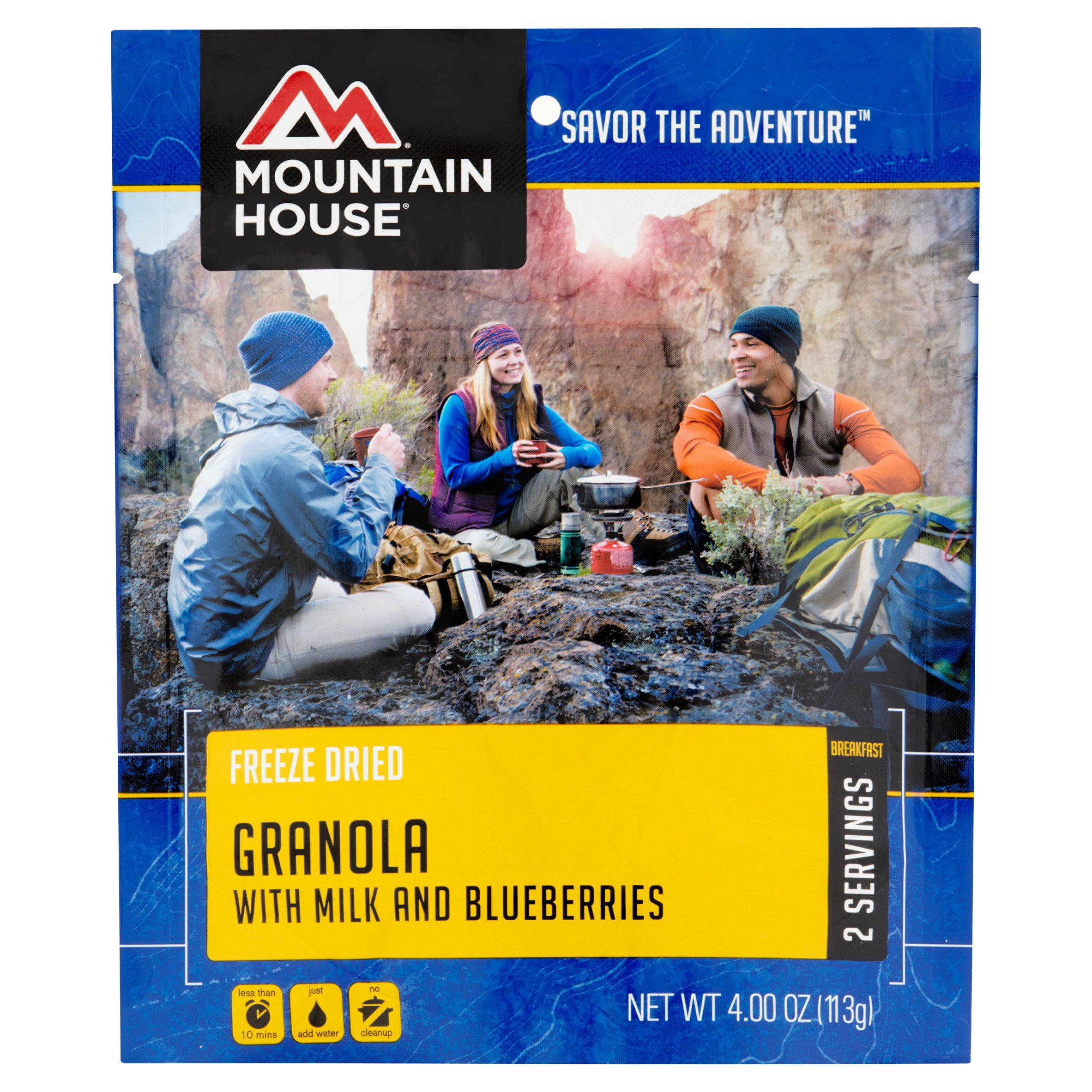 Mountain House Pouch 8oz Granola W/Berries, 53449