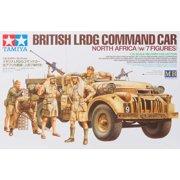 Tamiya America, Inc 1/35, British LRDG Command Car, 7pc, TAM32407