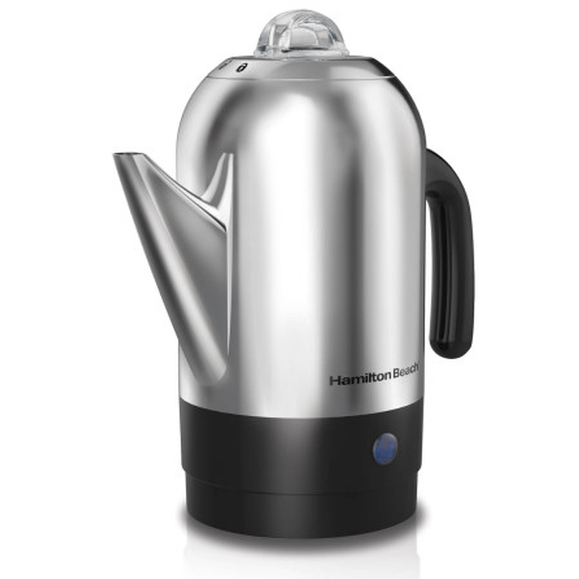 Hamilton Beach 8 Cup Stainless Steel Percolator | Model# 40621R