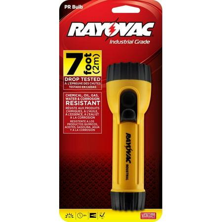 Industrial Grade 10 Lumen 2D Yellow Flashlight (IN2C), Ring hanger on end, non-roll barrel design By (Flashlight Hanger)