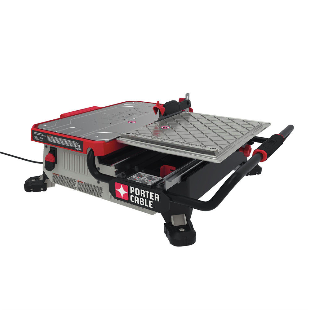 PORTER CABLE 7-Inch Table Top Wet Tile Saw, Pce980 by