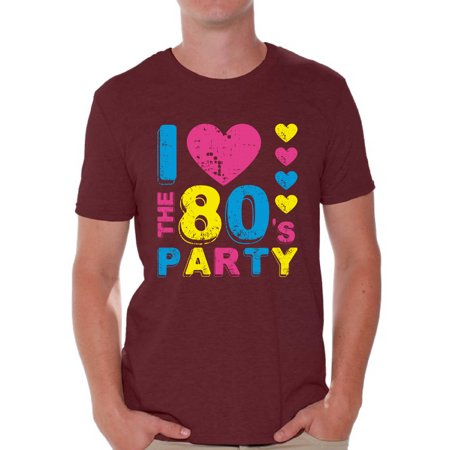 Awkward Styles I Love the 80s Party Shirt I Love the 80s Shirt Men 80s Accessories 80s Retro Vintage Rock T-Shirt 80s Costume 80s Clothes for Men 80s Outfit 80s - 80s Boys