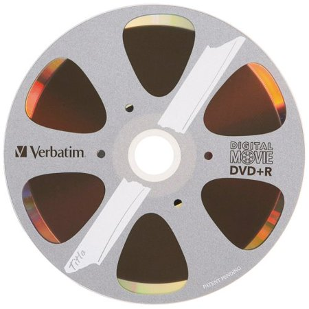Verbatim DVD+R, 96857, 4.7GB, 8X, DigitalMovie Surface, 10PK Blister