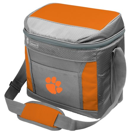 Clemson Tigers Coleman 16-Can 24-Hour Soft-Sided Cooler - No Size