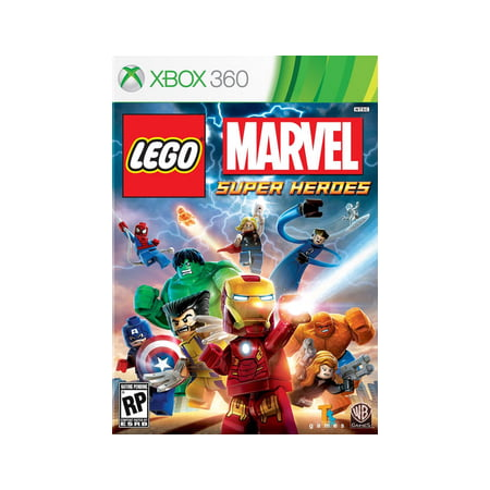 LEGO Marvel Super Heroes, Warner Bros, Xbox 360, 883929319701