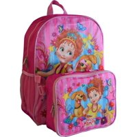 """Fancy Nancy & Frenchy 16"""" Backpack With Detachable Matching Lunch Box"""