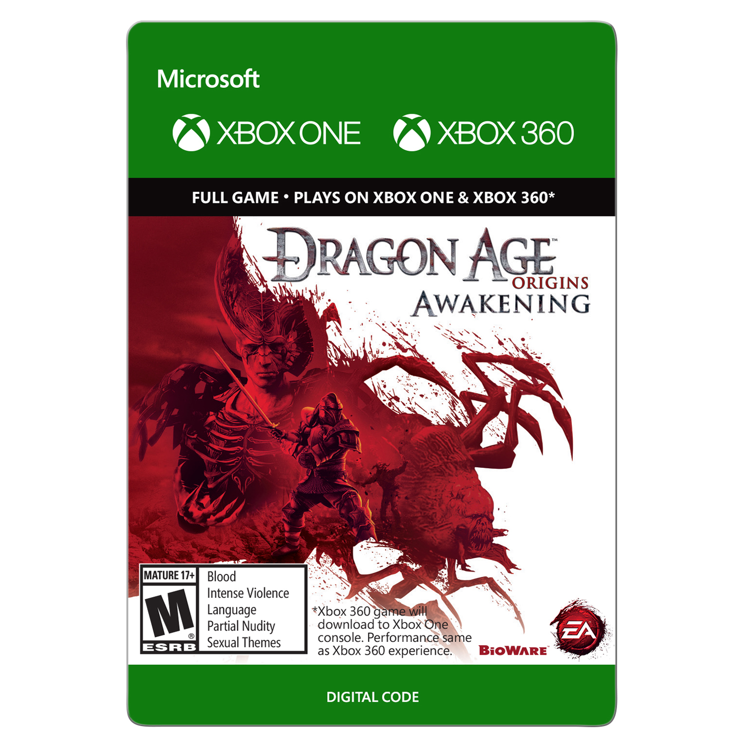 Xbox One Dragon Age Origins (email delivery)