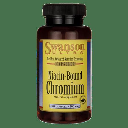 Swanson-Niacine Bound chrome 200 mcg 120 Caps