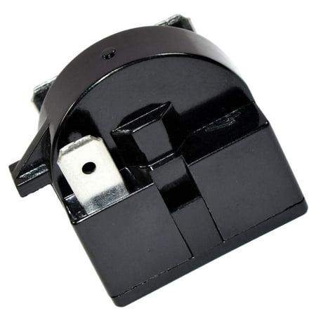 HQRP QP2-4R7 4.7 Ohm 3-Pin PTC Starter / Start Relay for EdgeStar VBR Series Compressor Relay Replacement fits EdgeStar VBR240 VBR440 VBR640 plus HQRP Coaster](Relay For Life Merchandise)