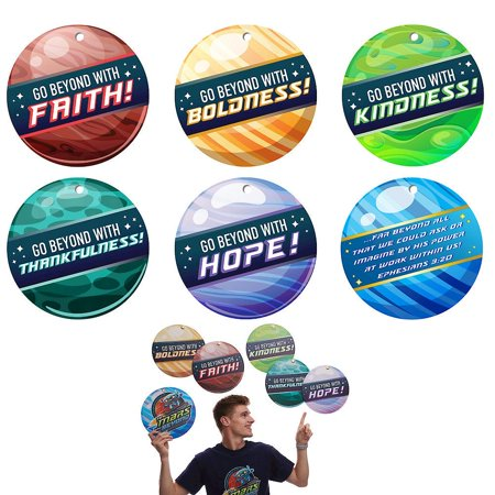 To Mars and Beyond: Vacation Bible School (Vbs) 2019 to Mars and Beyond Power Launcher Decorating Mobiles (Pkg of 6): Explore Where God's Power Can Take You! (Other) - Vbs Tips