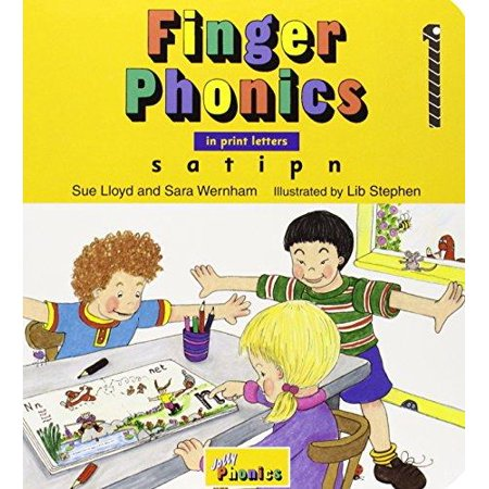 Finger Phonics  Books 1 7  In Print Letters