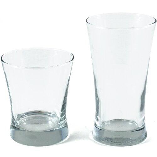 Anchor Linden 16 Piece Set 17 Fl Oz 16   Set Clear Glass (94802l13) by Anchor Hawking
