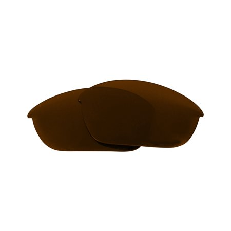 HALF JACKET Asian Fit Replacement Lenses Bronze Brown by SEEK fits OAKLEY (Hcl Bronze Lens)
