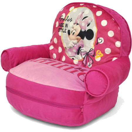 Cool Disney Minnie Mouse Bean Bag With Bonus Slumber Bag Creativecarmelina Interior Chair Design Creativecarmelinacom