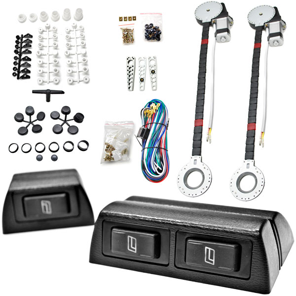 Biltek�� 2x Car Window Automatic Power Kit Electric Roll Up For Audi / Honda A1 A3 A6 A8 Q3 Q5 Q7 R8 RS4 RS5 S3 S4