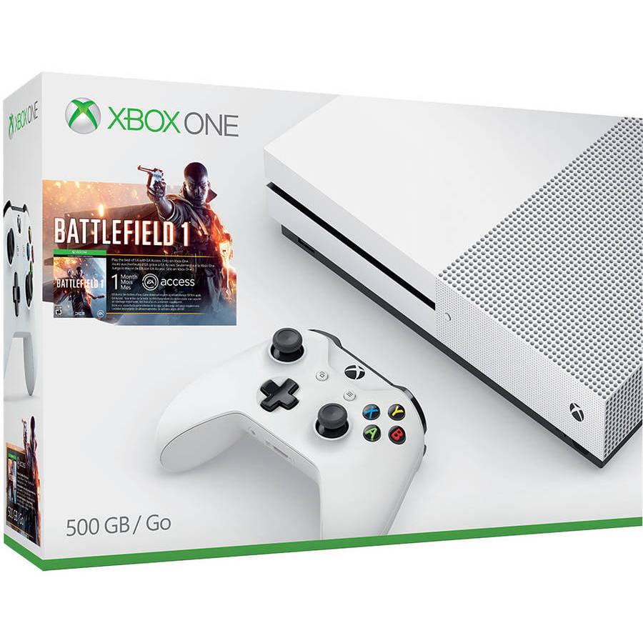 Xbox One S Battlefield 1 Bundle (500GB)