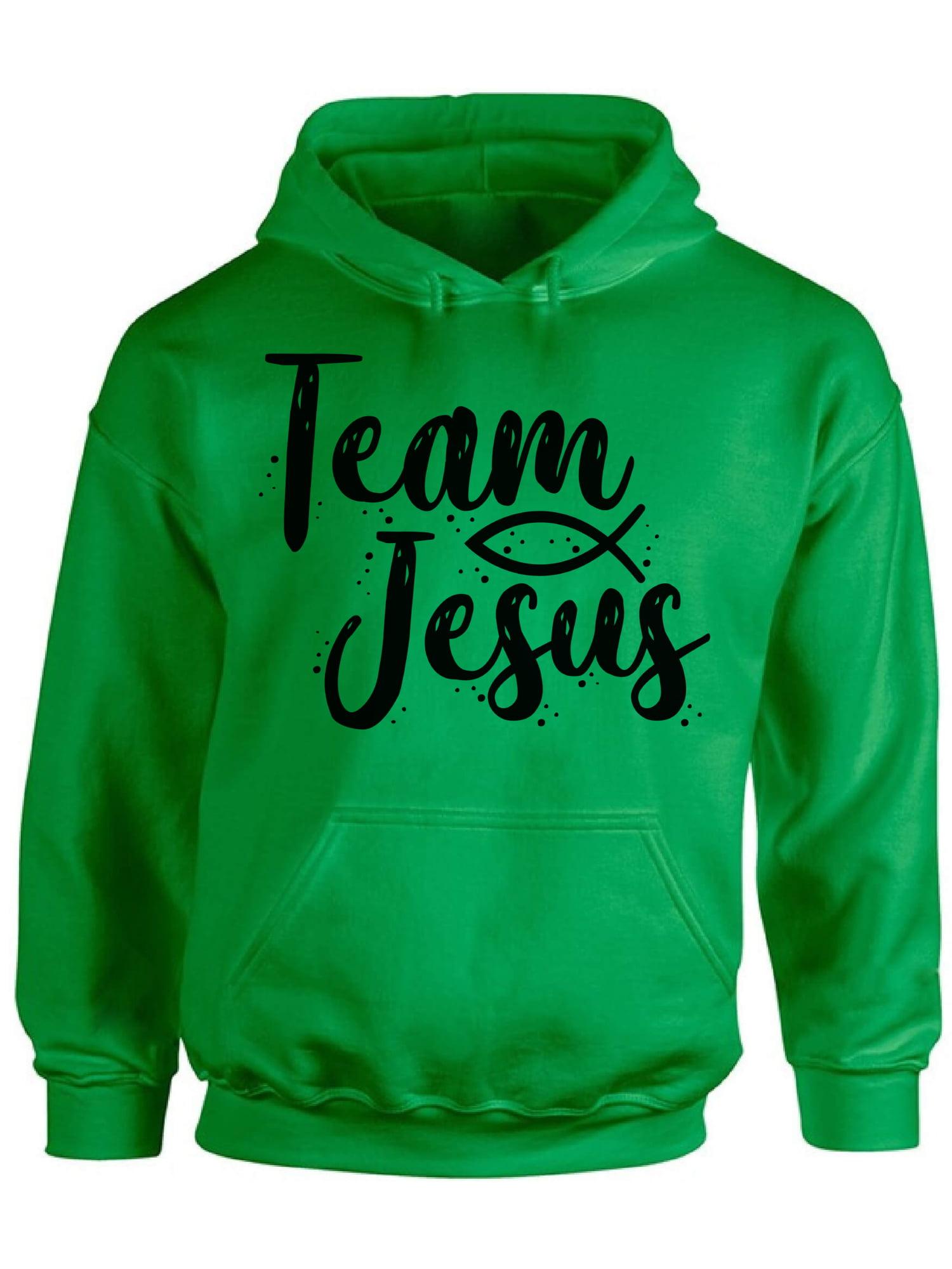 Various Colours Available Team Jesus Unisex Hoodie