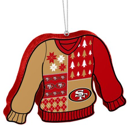 cd04d004 San Francisco 49ers Official NFL 5.5 inch Foam Ugly Sweater ...
