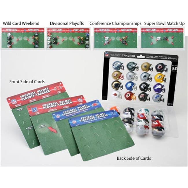 Creative Sports RPD-NFL-TRACKER32 Riddell 32 Piece NFL Tracker Set
