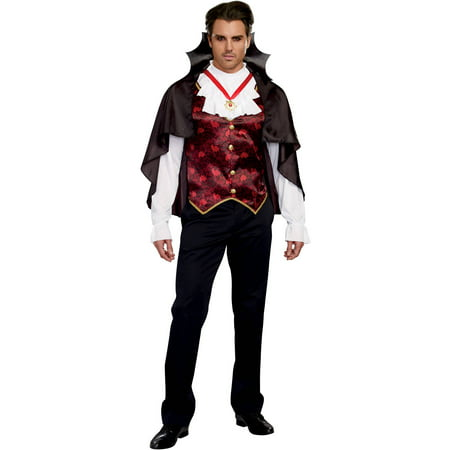 Prince of Darkness Adult Men's Halloween Costume, Medium](Prince Costume Adults)
