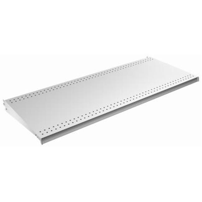 Deep Platinum Lozier Shelf Lozier Store Fixtures PLT 4 ft.x19 in Pack Of 2