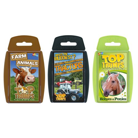 - Top Trumps Card Game Bundle - On The Farm