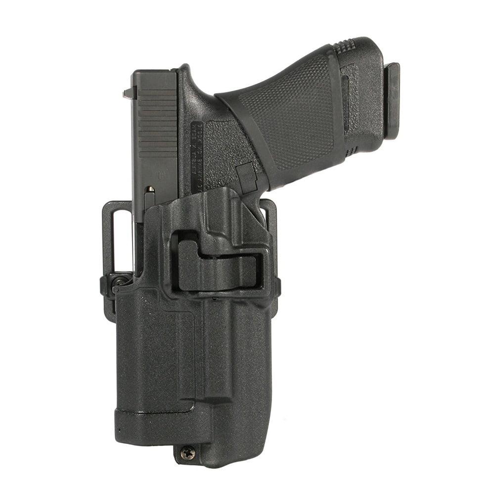 BLACKHAWK! SERPA CQC Light Bearing Concealment Holster Left Hand, Matte Finish