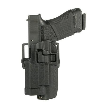 BLACKHAWK! SERPA CQC Light Bearing Concealment Holster Left Hand, Matte - Standard Cqc Concealment Holster