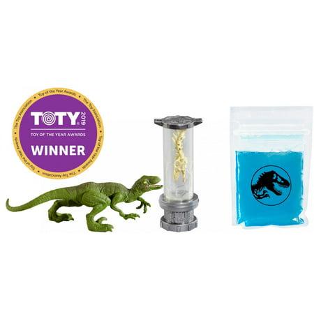 - Jurassic World Slime Dino DNA Lab Kit with Velociraptor Dinosaur