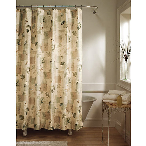 Better Homes and Gardens Julia Fabric Shower Curtain