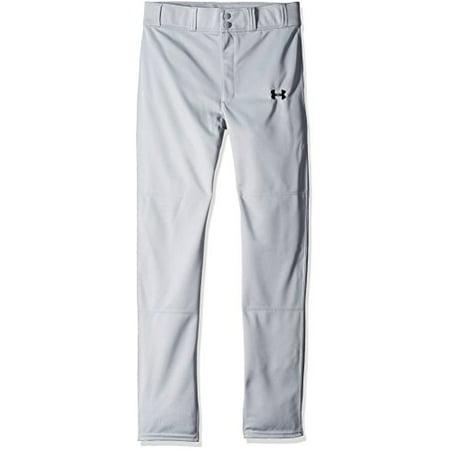 Under Armour Boys' Clean Up Baseball Pants, Baseball Gray/Black, Youth
