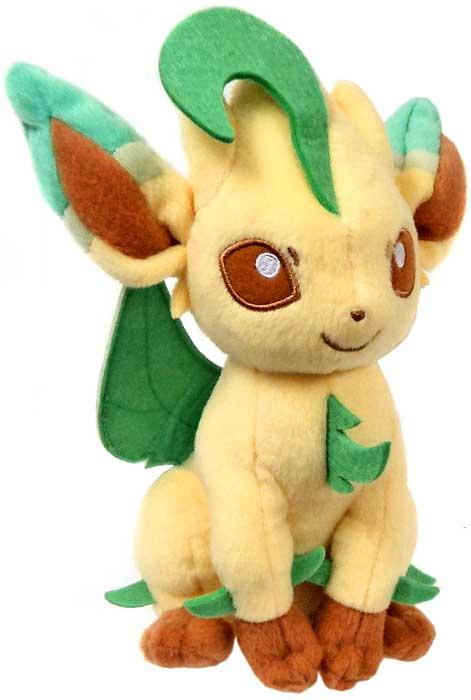 Pokemon XY Evolutions Leafeon 8 Plush by