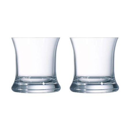 Fiesta Drinking Glasses (Arcoroc Fiesta Double Old Fashioned Flared Glass 13.75 Ounce, Set of)