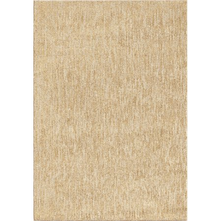 Orian Next Generation Area Rugs 4403 Transitional Casual Beige Single Color Cream Shaded Faded Rug 7 10 X Rectangle Com