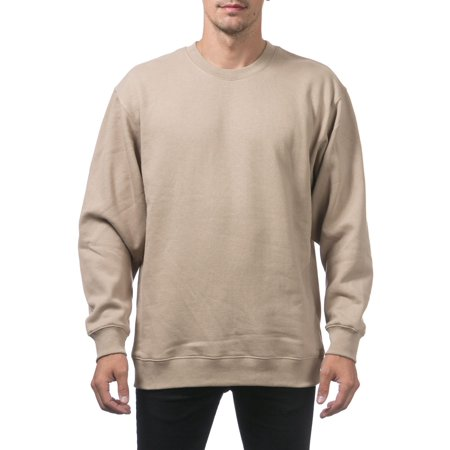 60cfde273462 Pro Club - Pro Club Men s Heavyweight 13oz Crew Neck Fleece Pullover  Sweatshirt