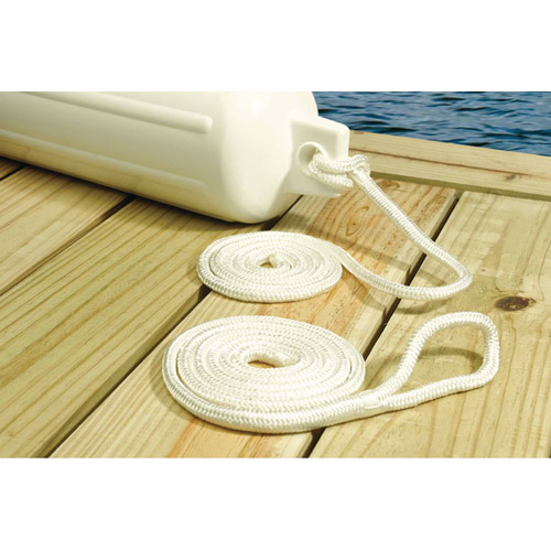 Seachoice Double-Braided Nylon Fender Line, 2-Pack