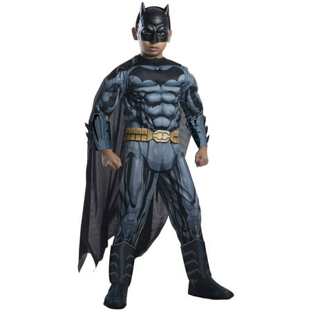Batman Deluxe Child Halloween Costume - Batman Costume For Children