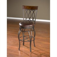 American Heritage Bella Bar Stool in Pepper-34 Inches