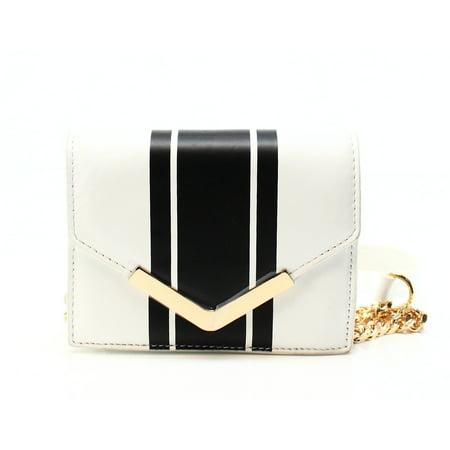 Cynthia Rowley New White Center Striped Envelope Leather Crossbody. Cynthia  Rowley Handbags 793d343efadec